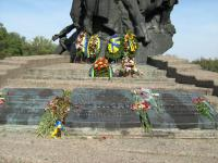 Monument to Soviet citizens and prisoners of war, Soviet Army soldiers and officer, who were shot  by German Nazis