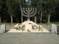 """Menorah"" (architect Y. Paskevich, engineer B. Hiller, artists J. Bazilevich, I. Bazilevich) 1991"